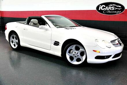 2004_Mercedes-Benz_SL500_AMG Sport 2dr Convertible_ Chicago IL