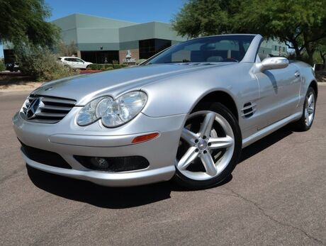 2004 Mercedes-Benz SL500 Convertible AMG Sport Package Scottsdale AZ