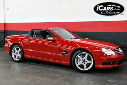 2004_Mercedes-Benz_SL55_AMG 2dr Convertible_ Chicago IL