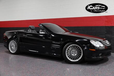 2004_Mercedes-Benz_SL55 AMG_2dr Convertible_ Chicago IL