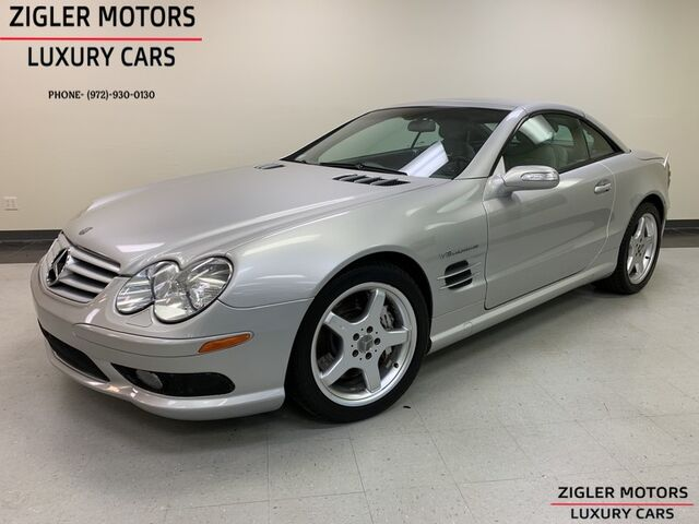 2004 Mercedes-Benz SL55 AMG Convertible Dallas Car, Clean Carfax Well maintained Addison TX
