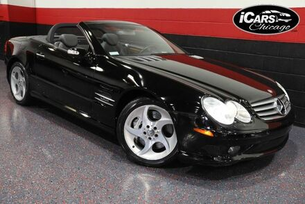 2004_Mercedes-Benz_SL600_AMG Sport 2dr Convertible_ Chicago IL