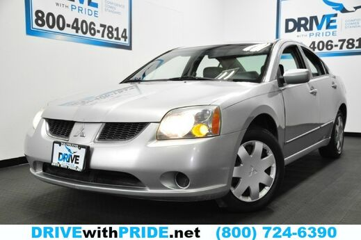 2004 Mitsubishi Galant ES POWER WINDOWS LOCKS MIRRORS AM FM CD CRUISE CTRL Houston TX