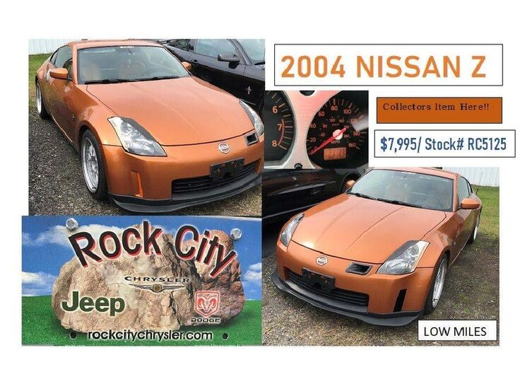 2004 Nissan 350Z Touring Rock City NY