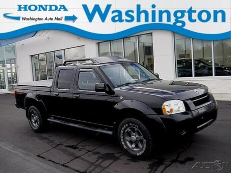 2004 Nissan Frontier 4WD XE Crew Cab V6 Manual Long Bed Washington PA