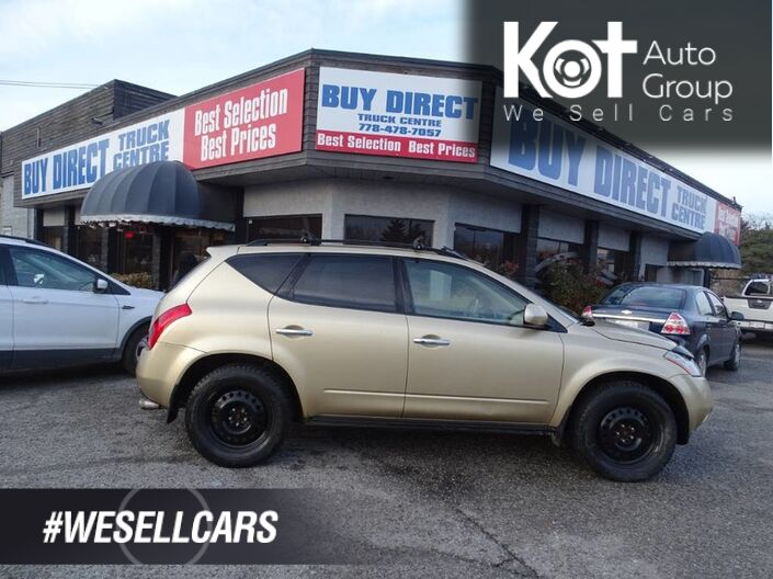 2004 Nissan Murano SL W/Sunroof and RoofRack Kelowna BC