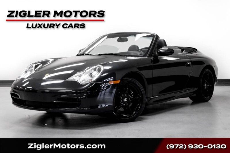 2004 Porsche 911 Carrera Cabriolet 6-Speed Manual Low Miles GREAT DEAL!! Addison TX
