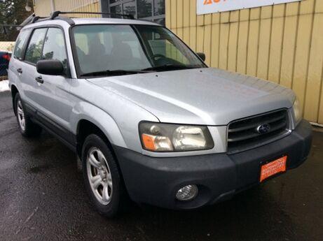 2004 Subaru Forester 2.5 X Spokane WA