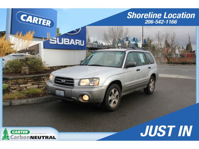 2004 Subaru Forester 2.5 XS Seattle WA