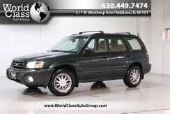 2004_Subaru_Forester (Natl)_X - AWD LEATHER INTERIOR CD PLAYER POWER WINDOWS ALLOY WHEELS COMPASS CLEAN INTERIOR CARGO COVER_ Chicago IL
