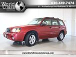 2004 Subaru Forester XS w/ PREMIUM PACKAGE & LEATHER HEATED SEATS PANO ROOF CD PLAYER ALLOY WHEELS