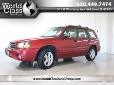 Subaru Forester XS w/ PREMIUM PACKAGE & LEATHER HEATED SEATS PANO ROOF CD PLAYER ALLOY WHEELS 2004