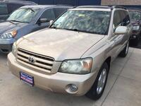 TOYOTA HIGHLANDER 4 DOOR WAGON 2004