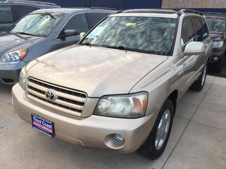 2004 TOYOTA HIGHLANDER 4 DOOR WAGON Austin TX