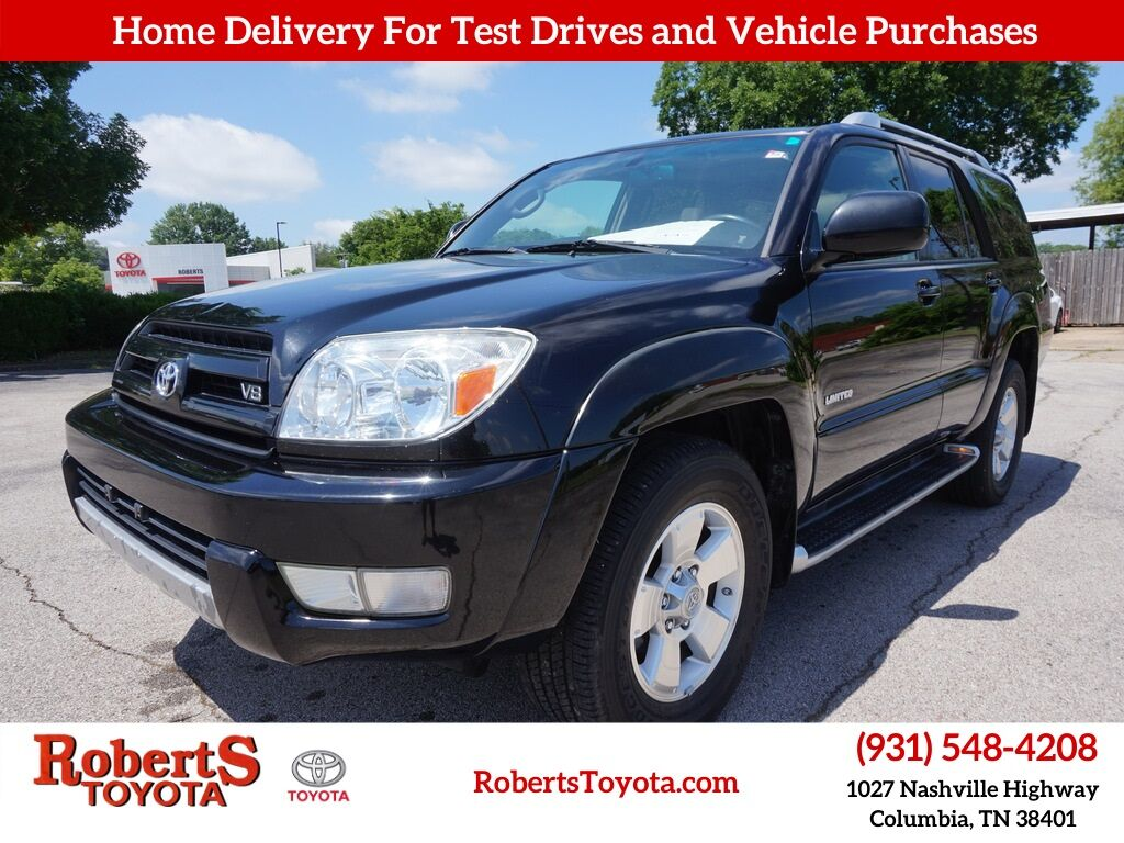 2004 Toyota 4Runner Limited Columbia TN
