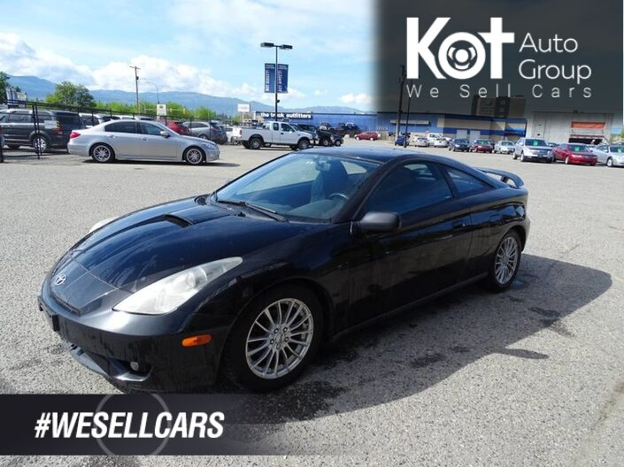 2004 Toyota Celica GTS Leather Seats, Sunroof Kelowna BC