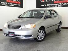 2004_Toyota_Corolla_CE AIR CONDITIONING OVERDRIVE POWER MIRRORS CRUISE CONTROL_ Carrollton TX
