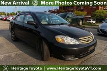 2004 Toyota Corolla LE South Burlington VT