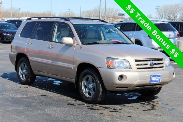 2004 Toyota Highlander Base Green Bay WI