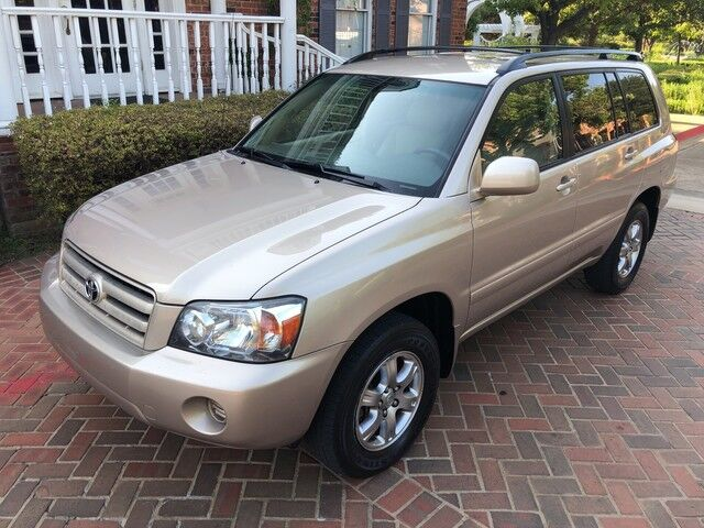 2004 Toyota Highlander LOADED AWD 1-OWNER 7-PASSENGERS SUPERB CONDITION MUST C & DRIVE. Arlington TX