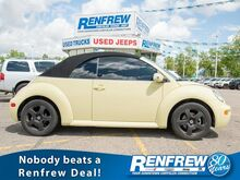 2004_Volkswagen_New Beetle Convertible_GLX Turbo Manual, Heated Leather_ Calgary AB
