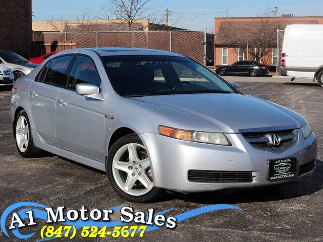2005 Acura TL Heated Leather Moonroof 6CD Schaumburg IL
