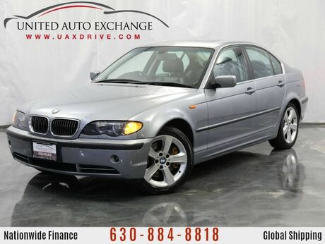 2005 BMW 3 Series 3.0L V6 Engine AWD 330xi xDrive w/ Sunroof, Power & Heated Leather Seats, Android Powered Infotainment System, Bluetooth Wireless Technology, Google Maps Based Navigation System Addison IL