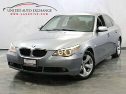 2005_BMW_5 Series_530i / 3.0L 6-Cyl Engine / RWD_ Addison IL