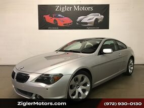 BMW 6 Series 645Ci Coupe Panoramic Roof Clean Carfax 2005