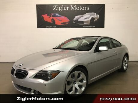 2005 BMW 6 Series 645Ci Coupe, Panoramic Roof, Clean Carfax, Low Miles Addison TX