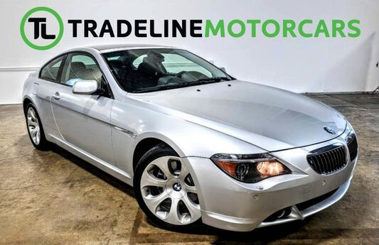 2005 BMW 6 Series 645Ci LEATHER, REAR PARKING AID, CRUISE CONTROL AND MUCH MORE!!! CARROLLTON TX