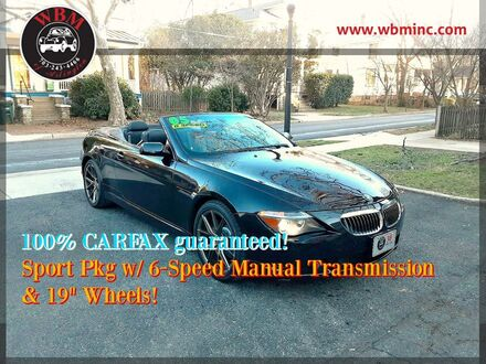 2005_BMW_645Ci_Convertible_ Arlington VA