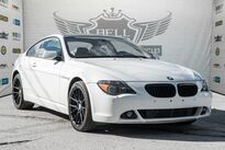 BMW 645Ci NAVI, SUNROOF, VOICE COMMAND, LEATHER, BLUETOOTH 2005