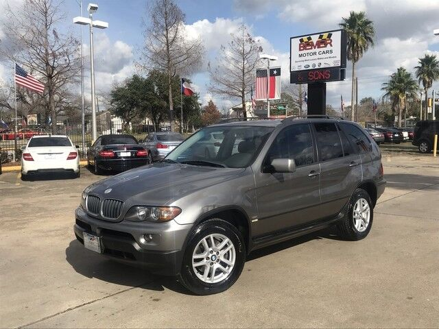 2005_BMW_X5_3.0i_ Houston TX