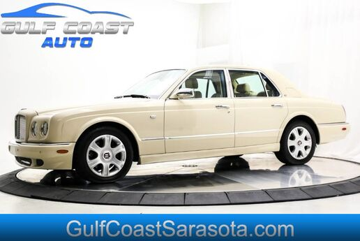 2005 Bentley ARNAGE R LIKE NEW ONLY 34K MILES RARE SUNROOF EXTRA CLEAN !! Sarasota FL