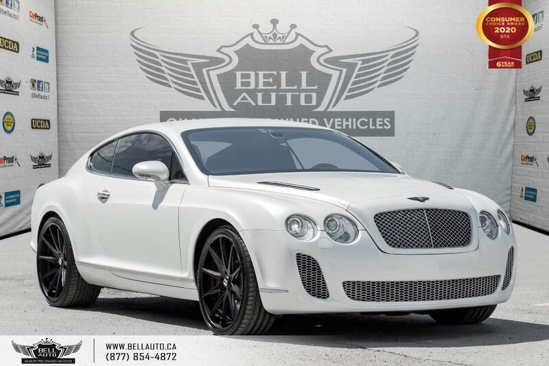 2005 Bentley Continential GT, AWD, V12, COUPE, NAVI, BLUETOOTH, WOOD TRIM Toronto ON