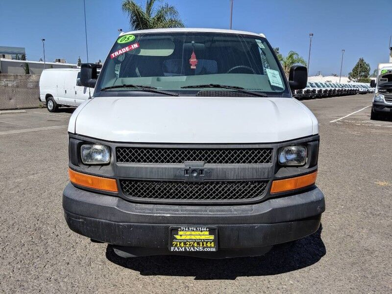 2005 Chevrolet Express 2500 Cargo Van Fountain Valley Ca