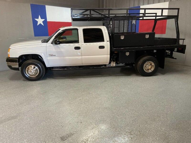 2005 Chevrolet Silverado 3500 2005 LS 4WD Dually 6.6L Duramax Diesel Utility Bed New Tires