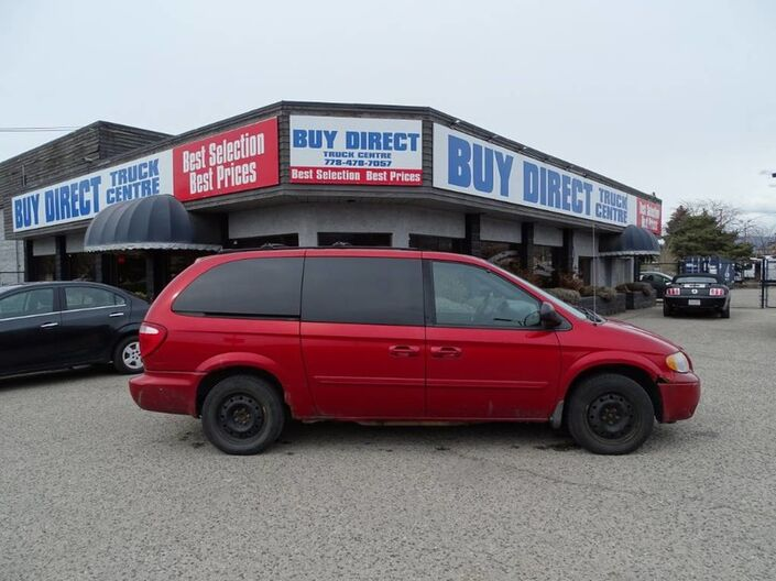 2005 Dodge Caravan SXT No Accidents! Tons of Space Kelowna BC