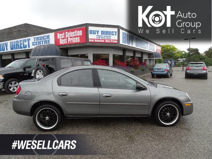 2005 Dodge SX 2.0 Base, Alloy Wheels, Great Winter Tires, Good Fuel Economy Kelowna BC