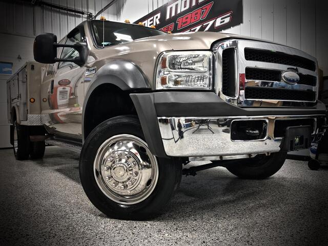 FORD F450 EXTENDED CAB 4X4 XLT 2005