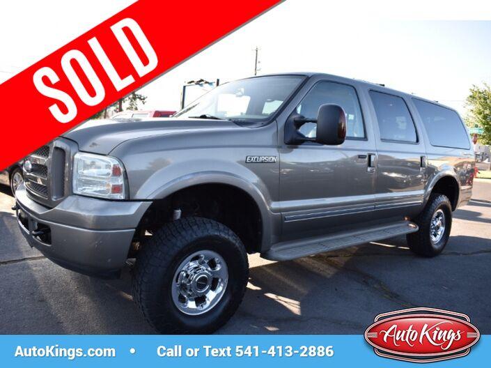 2005 Ford Excursion 6.0L Limited 4WD Bend OR