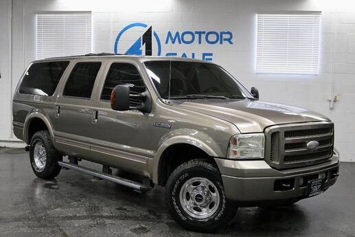 2005 Ford Excursion Eddie Bauer 4WD 6.0L Turbo Diesel Schaumburg IL
