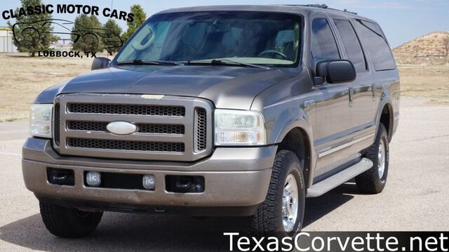 2005 Ford Excursion Limited Lubbock TX
