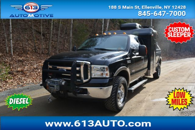 2005 Ford F-250 SD Lariat Supercab Long Bed 4WD Custom Sleeper Ulster County NY