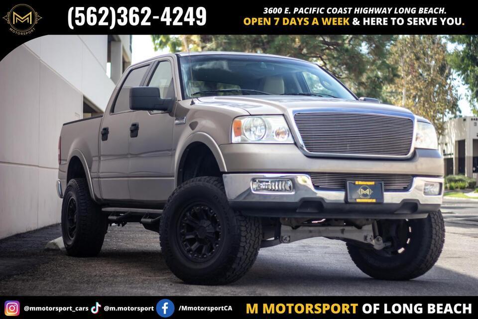 2005_Ford_F150 SuperCrew Cab_XLT Pickup 4D 5 1/2 ft_ Long Beach CA