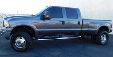 2005_Ford_F350 SUPER DUTY 4x4 LARIAT CREW DUALLY LOADED_POWERSTROKE DIESEL EGR BLOCK 6 NEW 35 TIRES_ Phoenix AZ
