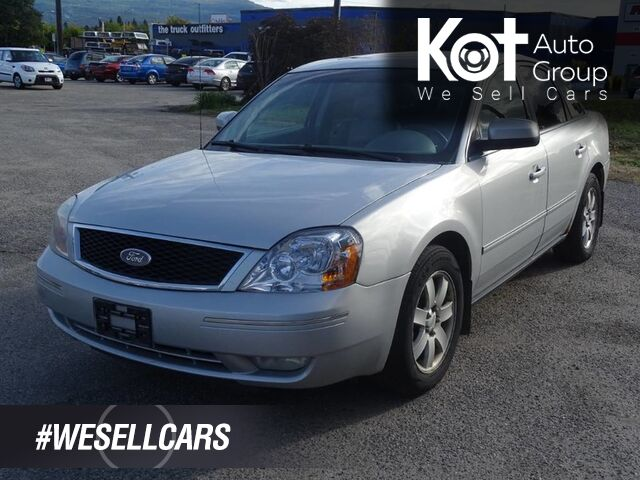 2005 Ford Five Hundred SEL, A/C, Traction Control, Leather, 6 Disc AM/FM CD player Kelowna BC