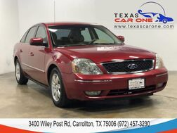 2005_Ford_Five Hundred_SEL AUTOMATIC LEATHER SEATS DUAL CLIMATE CONTROL CRUISE CONTROL ALLOY WHEELS_ Carrollton TX