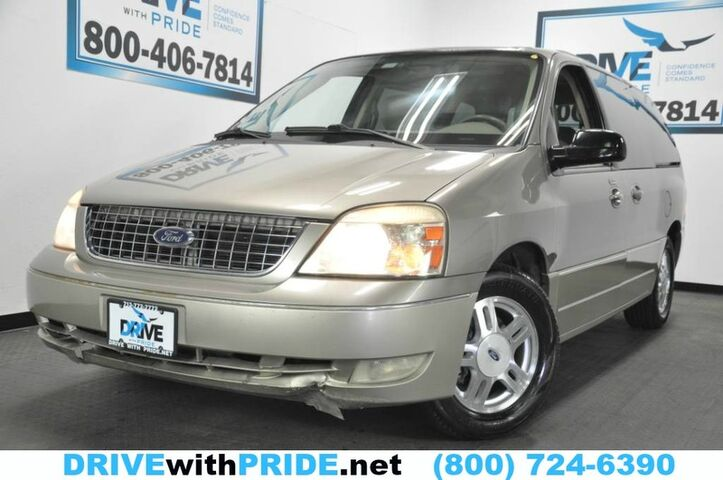 2005 Ford Freestar Wagon LIMITED V6 83K LEATHER DVD TOW PARKING SENSORS ALLOY CRUISE Houston TX